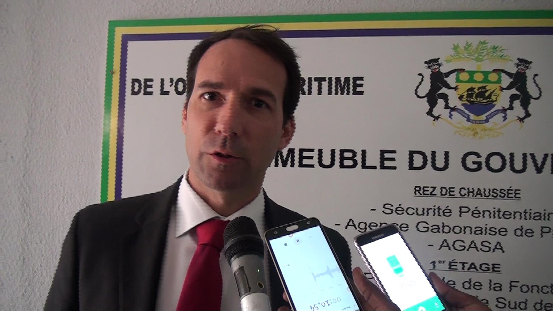Baptiste Breton, nouveau directeur de Perenco Gabon. © Gabonreview